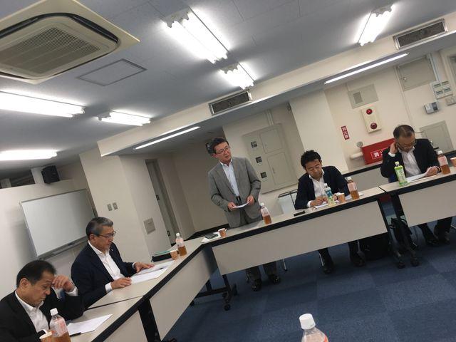 写真1 横田取締役開会