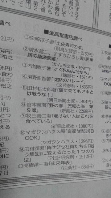 (1)「土佐寿司の本」一位!
