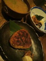 焼きオニギリと味噌汁と漬け物.jpg