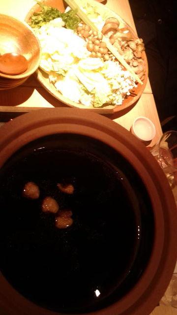 (16)鴨鍋の野菜