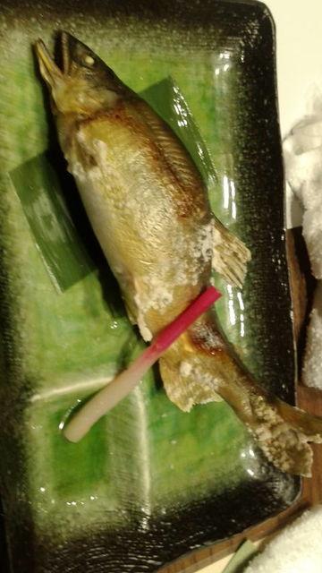 (12)鮎の塩焼き