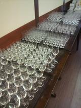 グラスもズラリ20140307