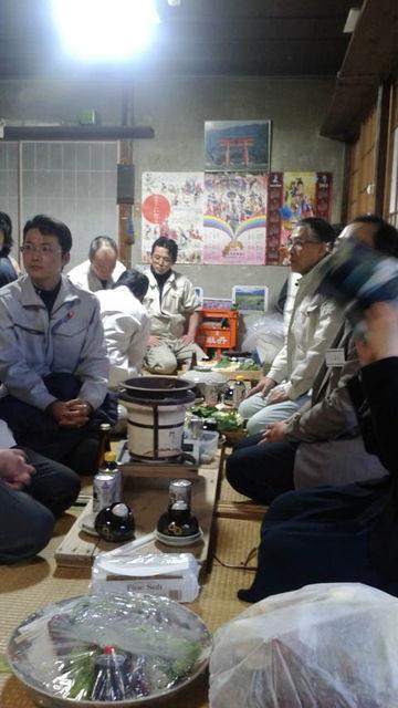(1)酒造り体験実習懇親会