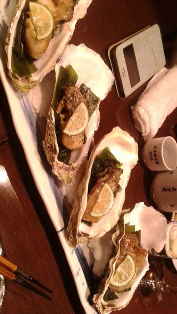 (10)焼き牡蠣