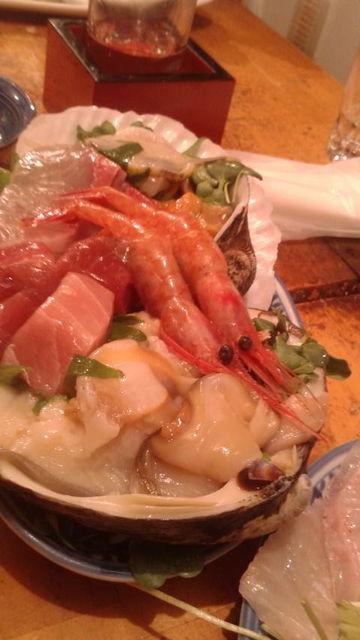 (11)「ささの葉」魚介刺身盛り