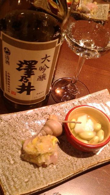 (7)澤乃井大吟と含め煮