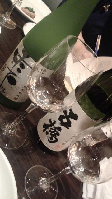 (9)司牡丹と五橋の純米大吟醸飲み比べ