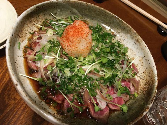 写真6 牛肉タタキ