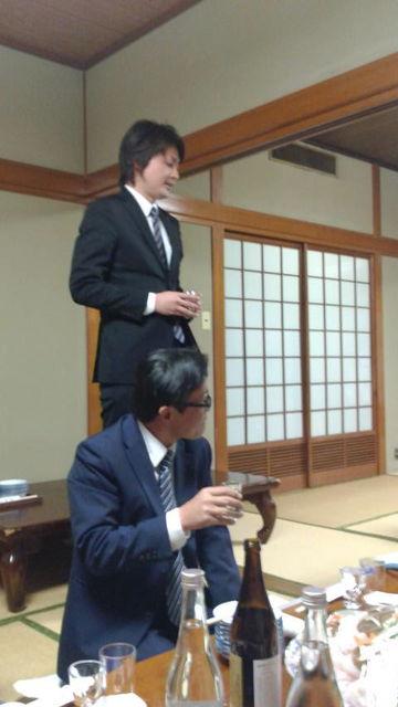 (10)松山酒販・戸田社長さん乾杯ご発声