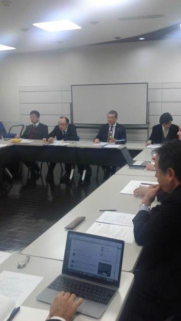 (7)社長、企画部との新年会議2