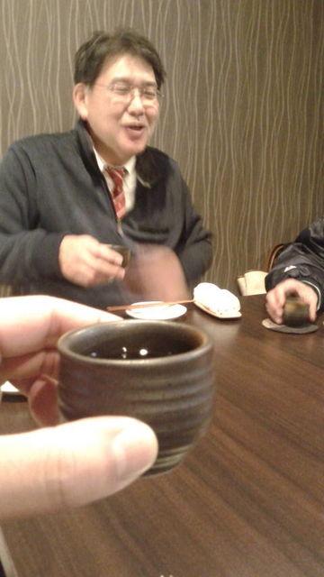 (9)斉藤さん乾杯