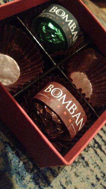 (4)チョコレートボンボン