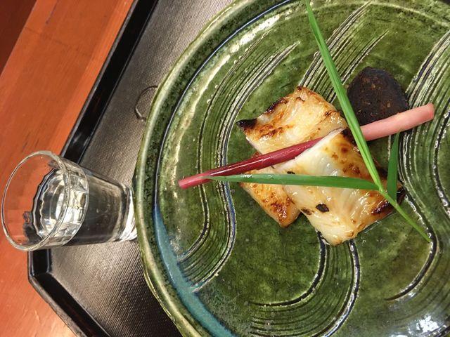 写真10 穴子の西京焼き