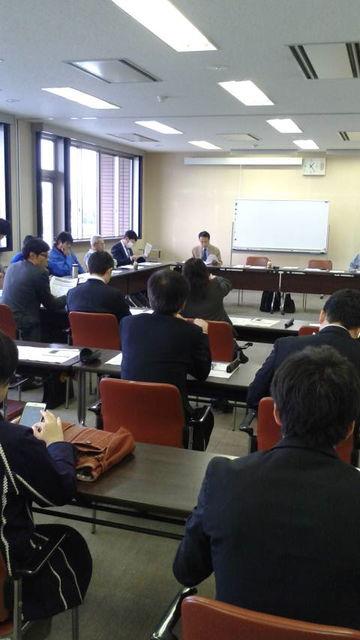 (1)会議スタート前風景