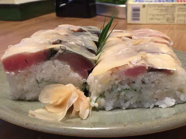 (5)サバ寿司
