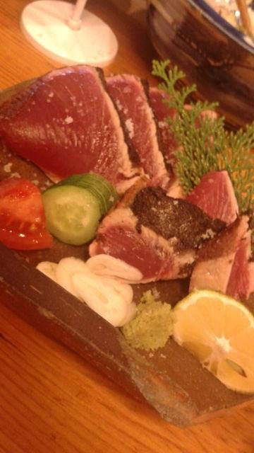 (13)戻り鰹の塩タタキ
