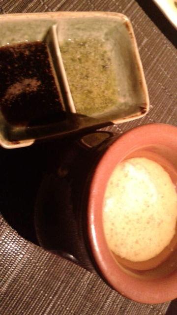 (8)醤油、バジルソース、バーニャカウダ