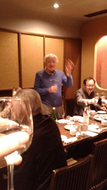 (3)坂本さん乾杯