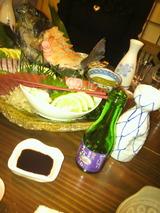 刺身と司牡丹のお酒.jpg