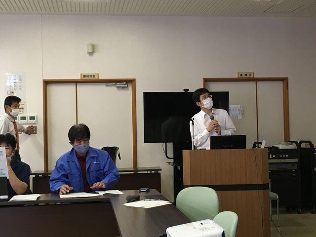 写真9 大崎先生