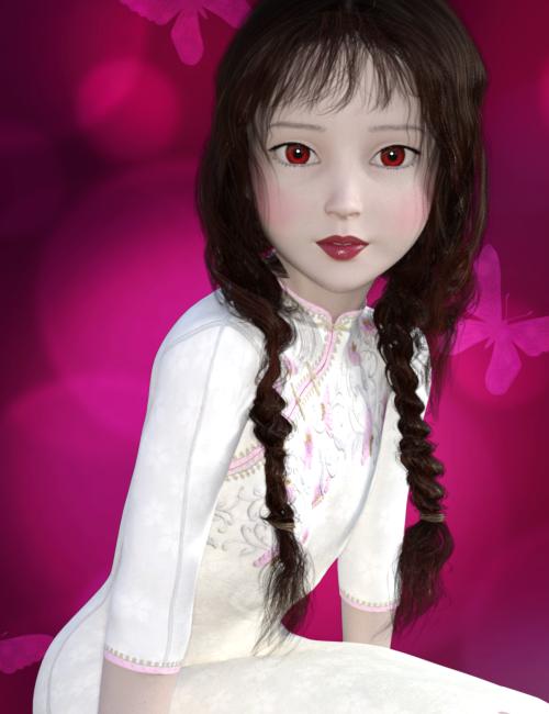 ★チャイナ服を着たRiko1