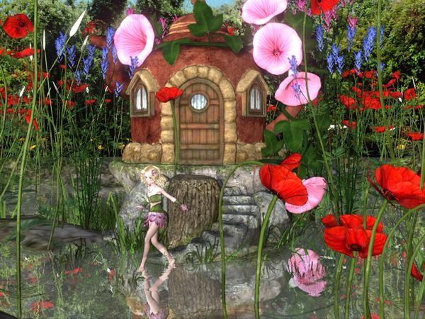 Sakura妖精の池