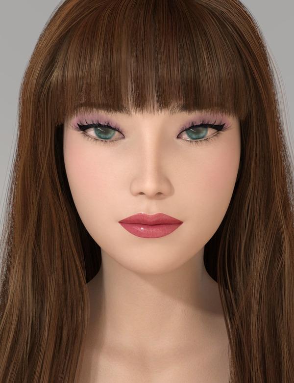 Violetta Head 12 化粧-min