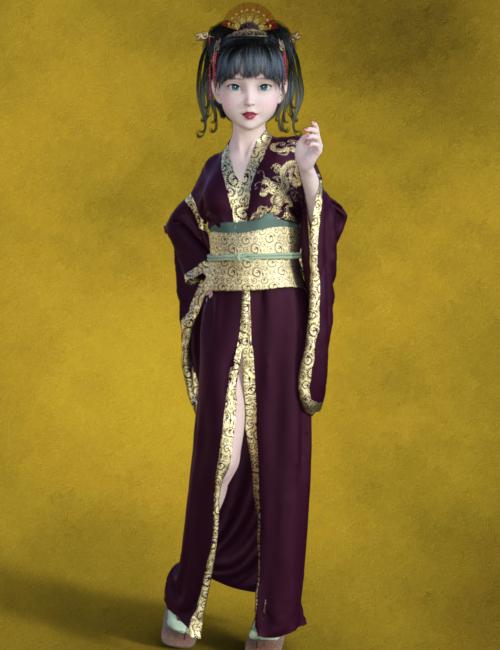 ★メイリン着物を着たRiko2