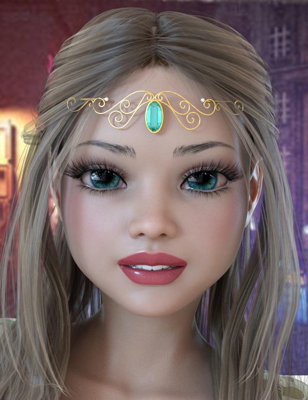 Violetta Head 9+Violetta Body 4