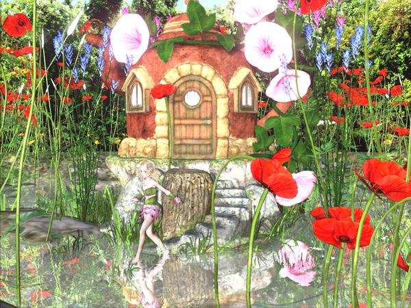 Sakura妖精の池の加工