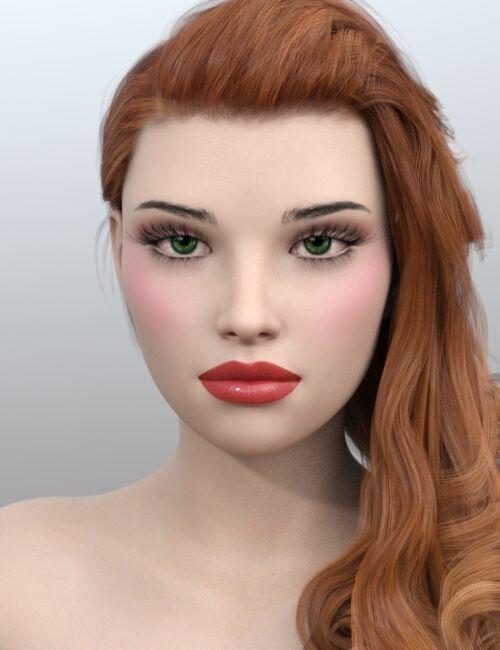 Violetta Head 11 化粧