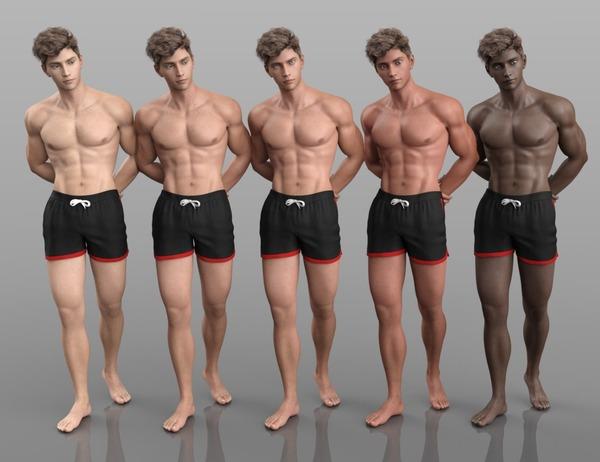 肌色5種類