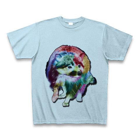 カラフルなあらいぐまTシャツ