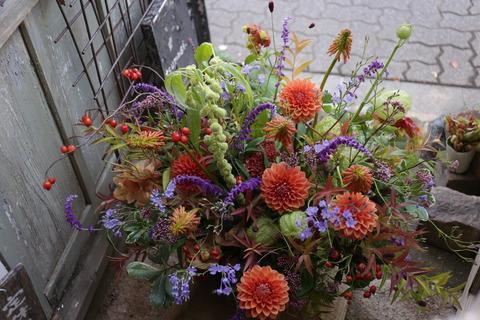 ご注文のお花お花