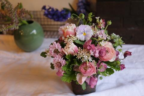 ご注文のお花と・・・販売用の・・・☆