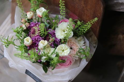 年明けからのご注文のお花たち