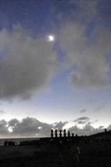 イースター島日食