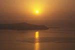 海への夕日