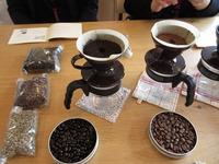 コーヒーの入れ方講習 (1)