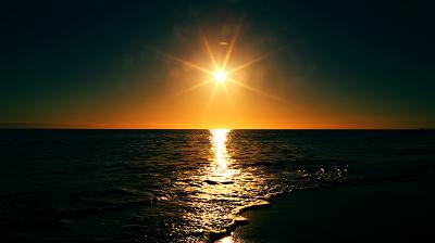sunset 夕日 日没
