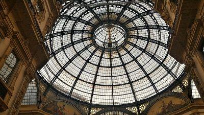 ミラノ ガッレリア ヴィットーリオ・エマヌエーレ2世のガッレリア Galleria Vittorio Emanuele II
