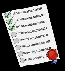 チェックリスト Check-List