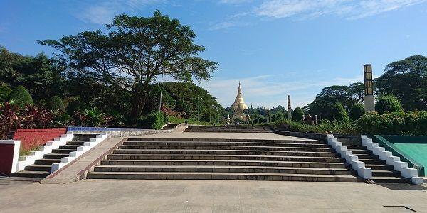 ミャンマー ヤンゴン 人民公園