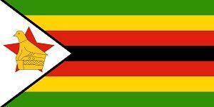 ジンバブエ Zimbabwe 国旗