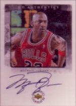 1998-99 UD Authentics Michael Jordan