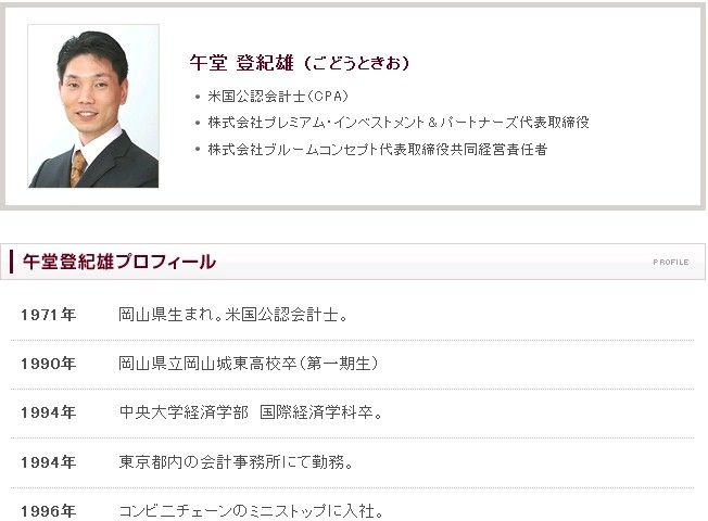 Godo_profile