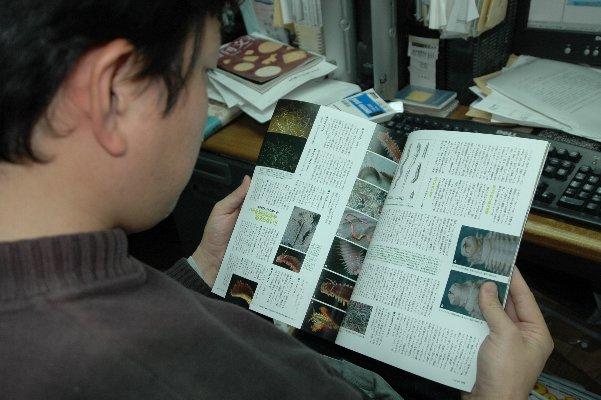 タガメファンがバチ抜け地獄を読むの図