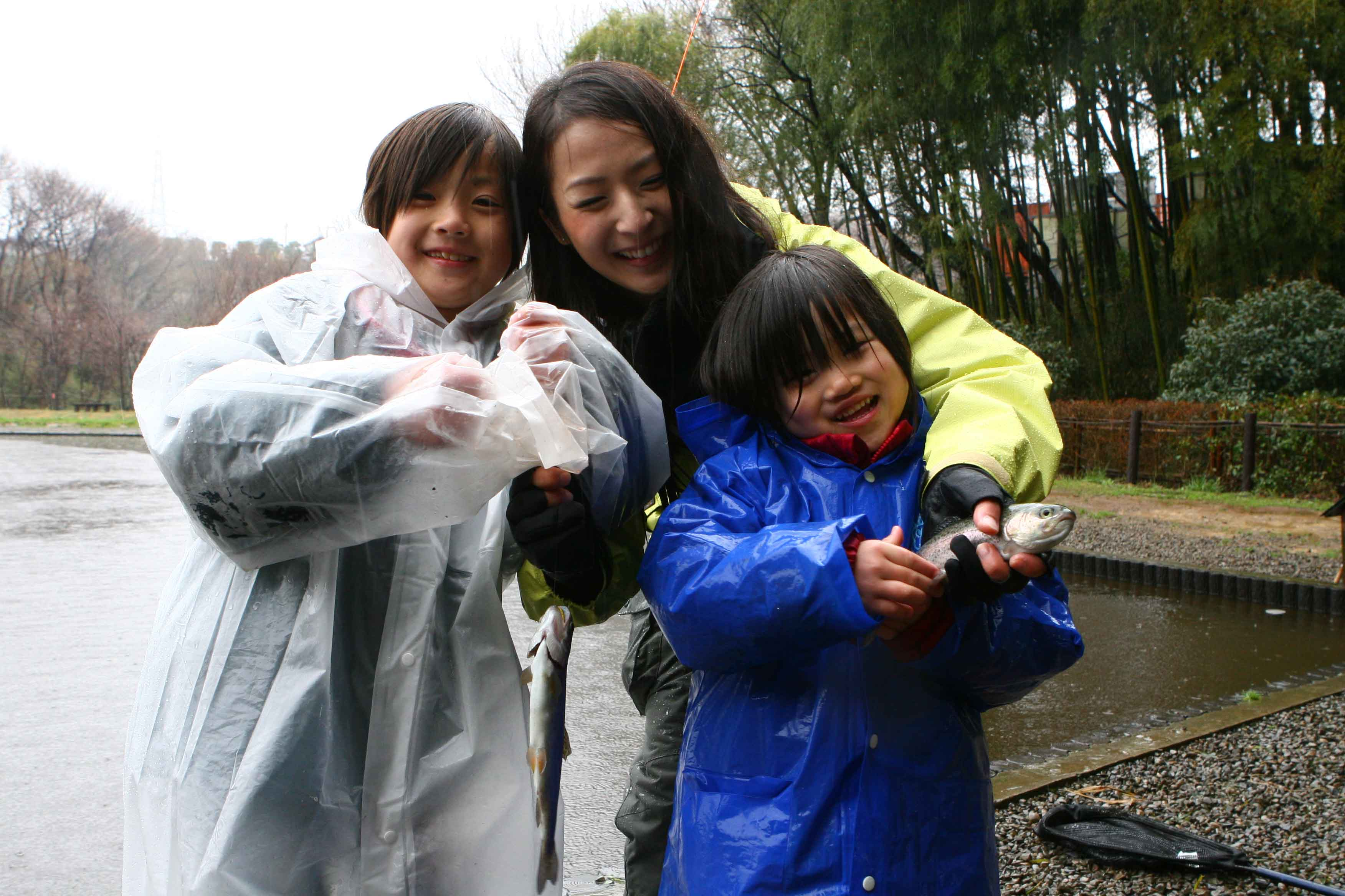 Aicaさんと子どもたち