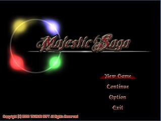 【自作フリーゲーム】Majestic Saga(ロールプレイング)