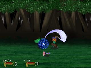 バトル中は武器によって3回まで連続攻撃することができます。連続攻撃は、攻撃アニメーション中にタイミング良くボタンを押すことで可能となります。